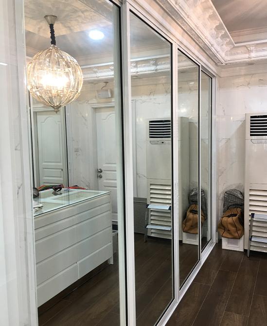 ประตูกระจก-อลูมิเนียม
