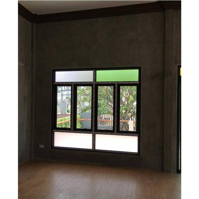 หน้าต่างกระจก-อลูมิเนียมบานเปิด